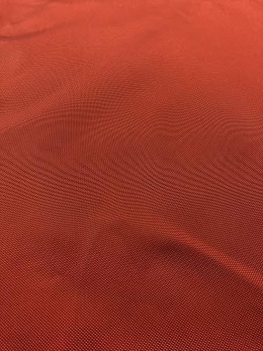Safety Orange 1050 Denier Ballistic Nylon Coated - by The Yard