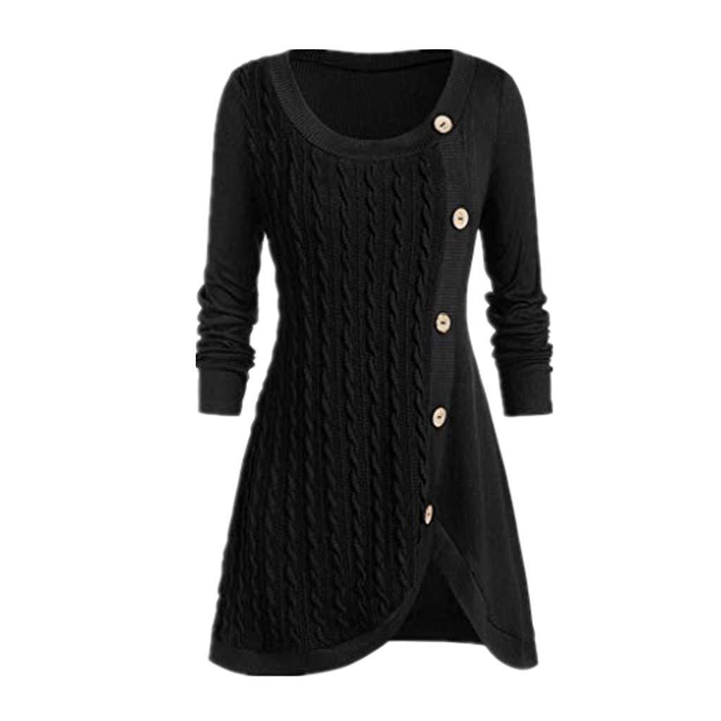 SHUSUEN Fall Winter Candy Knit Jumper Women Wool Sweater Soft Stretch OL Render Knit Pullover Knitwear S-3XL Black by SHUSUEN