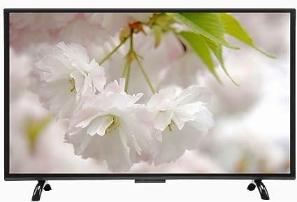 Hakeeta Televisor Smart TV con Pantalla Curvada 4K HDR 4K de 43 ...