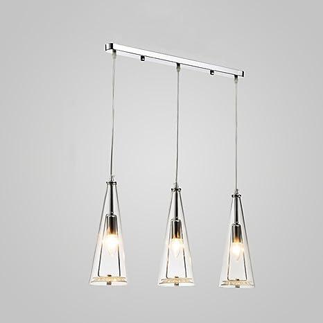 illuminazione Lampadario a LED Lampadario a tre lampade a ...