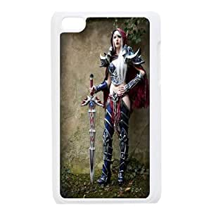 Custom Case Game World of Warcraft for Ipod Touch 4 Q3R3248946