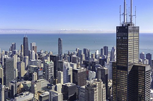 360 Chicago Experience for Two - Tinggly Voucher / Gift Card in a Gift Box