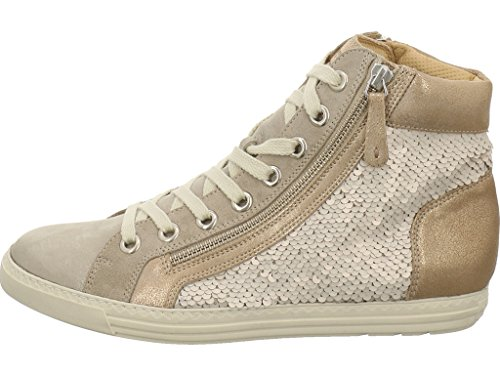 sabbia De Chaussures Pour Sabbia oro Lacets Ville Femme À Beige Paul Green vYww7x