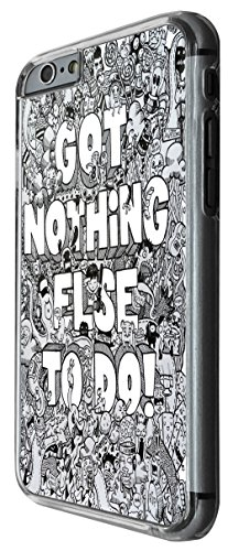 991 - Cool fun cute doodle school sketch quote got nothing else to do homework cartoons monsters aliens hero kawaii collage Design For iphone 6 6S 4.7'' Fashion Trend CASE Back COVER Plastic&Thin Meta