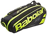 Babolat Pure Tennis Racquet Holder x6 Black/Yellow Deal (Small Image)