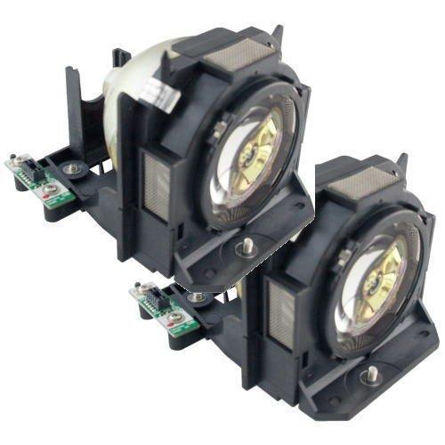 ET-LAD60AW 交換ランプ Panasonic パナソニック プロジェクター用 Phoenix オリジナルバナー搭載 汎用交換ランプ 純正互換品 2灯セット CBH ET-LAD60AW-CBH   B076NXWVR7