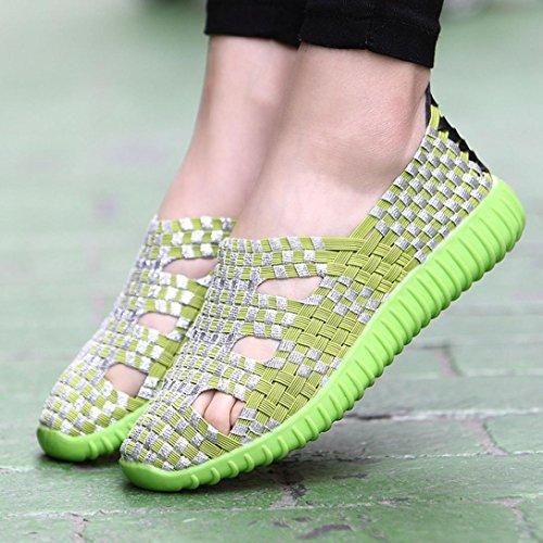 0011 Charol Sneakers Mujer Sneakershoedasdg Verde Sneakers de Jamicy RpqZZ
