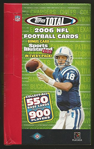 (2006 Topps Total Football Hobby Box)