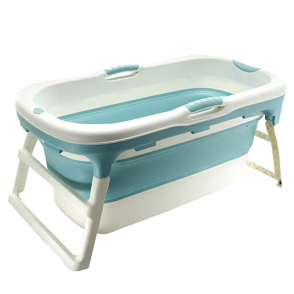 Adult Portable Collapsible Bathtub Large Plastic Children'S Tub Baby Swimming Pool Zuhause Comfortable Bath Barrel durch Tianta