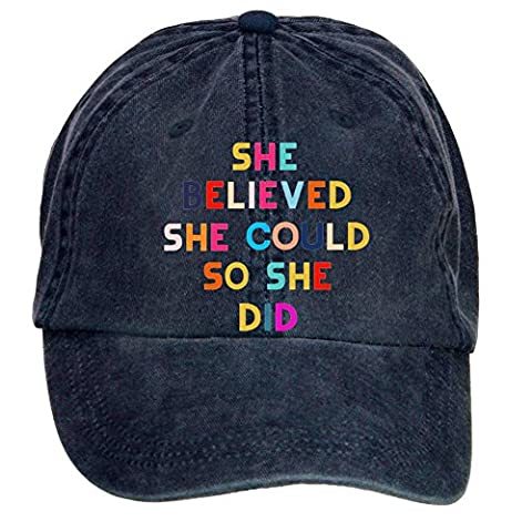 SLJD She Believed She Could So She Did1 Adjustable Washed Baseball Caps - South Park Gnomes