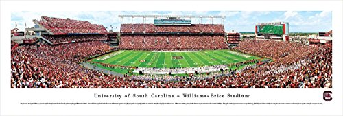 South Carolina Football - 50 Yard  - Blakeway Panoramas Unframed College Sports Posters (Williams Stadium Brice)