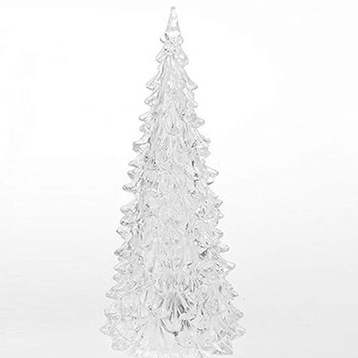 AODD Árboles de Navidad de acrílico LED, Cambia de Color ...