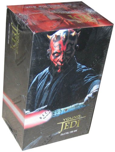 Young Jedi Card Card Game - Darth Maul Collectors Set