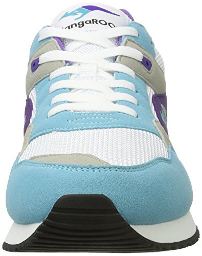 Top Sneakers Racer 2 Low Women's Green KangaROOS White wIZ1UqnUW