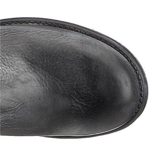 FRYE - Botas de cuero para hombre Negro