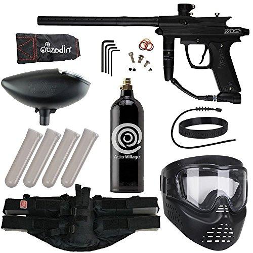 Action Village Azodin Epic Paintball Gun Package Kit (Kaos 2) (Black)