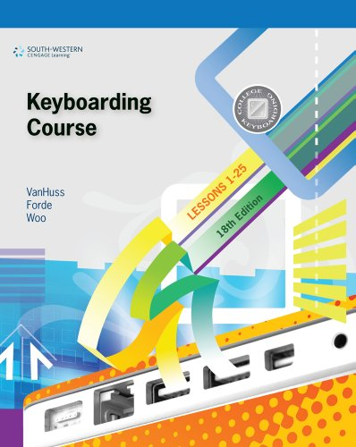 Bundle: Keyboarding Course, Lesson 1-25 with Keyboarding Pro 6: College Keyboarding, 18th + Microsoft Office 2010 180-da