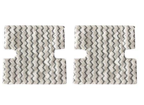 Surrgound Washable Mop Pads Fits for Shark S3973 S5002 S5003 S6001 S6002 S6003 Replaces Part # XTP184, 2pcs by Surrgound