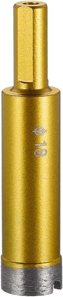 uxcell 28mm Dry//Wet Diamond Core Drill Bit for Granite Concrete Brick Block Stone Masonry