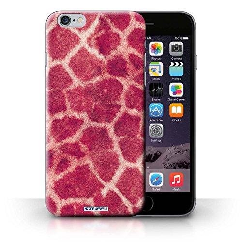 Hülle Case für iPhone 6+/Plus 5.5 / Rosa Entwurf / Giraffe Tier Haut/Print Collection