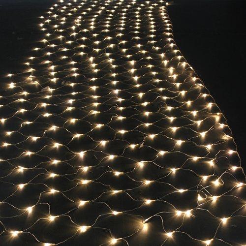 AGPtek®300 LED Net Mesh Fairy String Lights Lighting Party Wedding ...