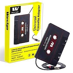 Gezan Audio Aux Cassette Adapter-Car Cas...