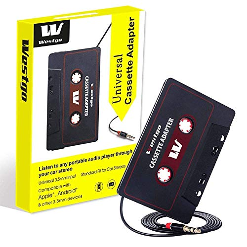 (Gezan Audio Aux Cassette Adapter-Car Cassette Adapter-Audio Cassette Player-Retro and Vintage Cassette Adapter)