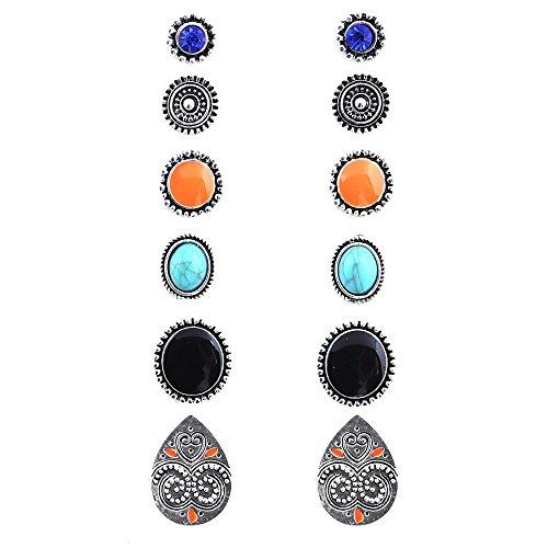 crystal earring set - 7