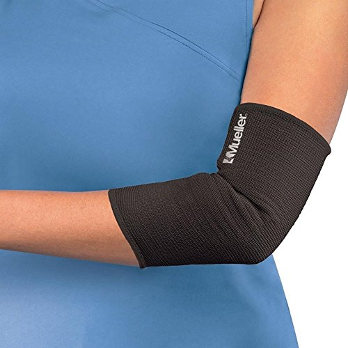 MUELLER Elastic Elbow Support, S, BLACK (Mueller Elbow Support)