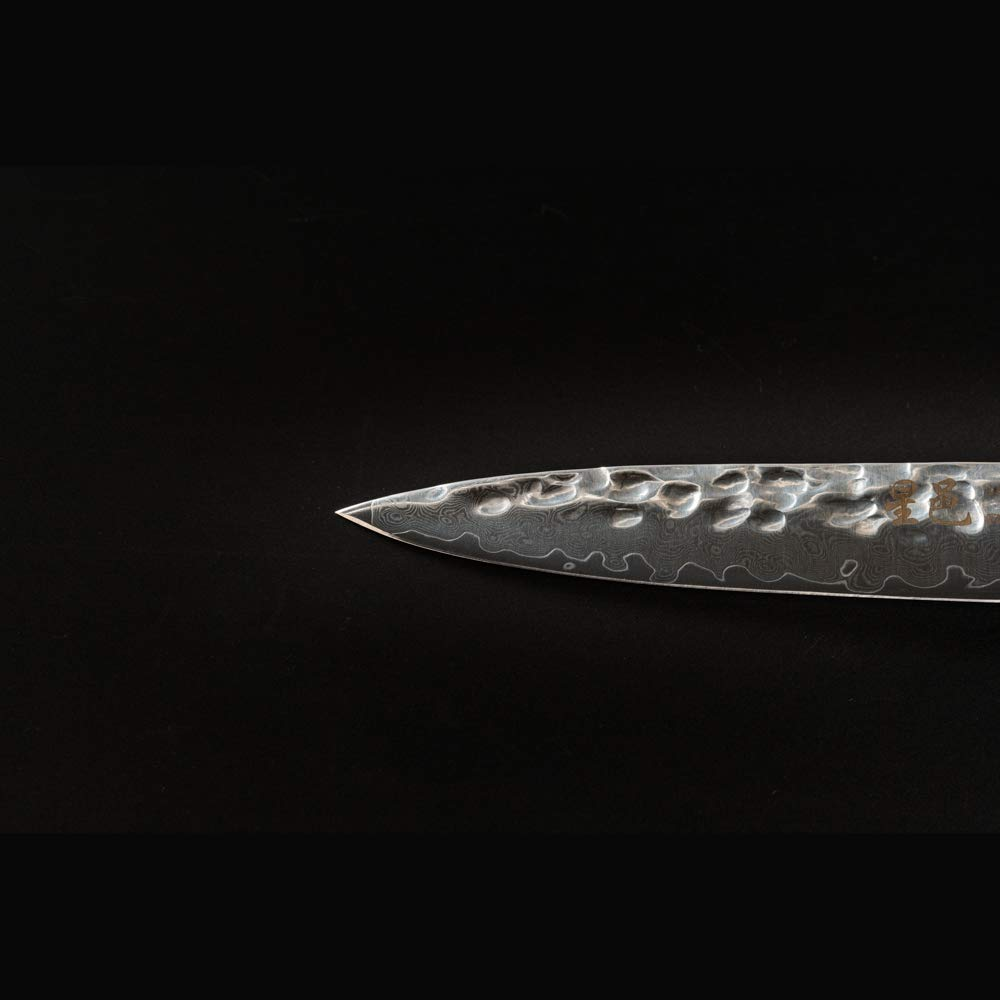 Chef's knife Damascus multipurpose knife(5 inch knife) by FZ (Image #4)