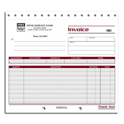 Professional Shipping Invoice Forms by PrintEZ