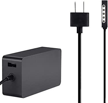 48W 12V Power Supply Charger Adapter For Microsoft Surface 1 2 RT /& Pro 1 2 1536