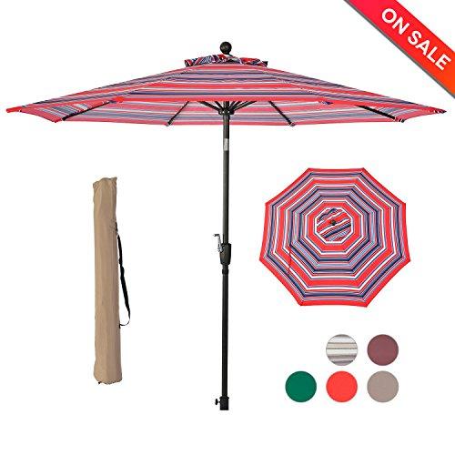 Cheap  LCH 9 Ft 8 Ribs Patio Umbrella Backyard Garden Lawn Deck Nice..