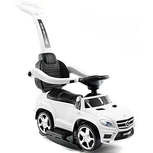 45fae5e29 good White 4-in-1 Mercedes Toddler Push Car