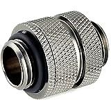 Bitspower G1/4'' Adjustable Aqua Link Pipe (16-22mm), Black Sparkle