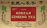 Prince of Peace Korean Ginseng Tea(instant) 0.07 Oz X 10 Bags X 10 Boxes