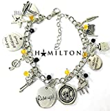 Hamilton Broadway Bracelet Jewelry Merchandise - Mothers Day Gift Idea - Hamilton Musical Gifts for Girls
