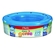 Playtex Diaper Genie Refill cassettes ,270 Count ,2 Pack ,Model:3870283