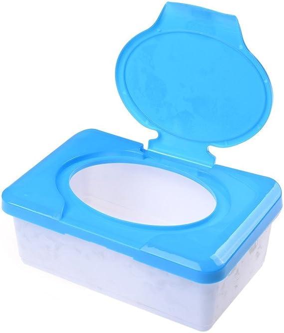 Sarora Wipes Storage Case ,Dry Wet Tissue Paper Case Baby Wipes Napkin Storage Box Plastic Holder Container Red