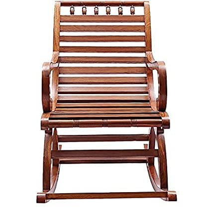 Crafts A To Z Wooden Rocking Chair/Grandpa Rocking Chair/Chair/Rolling Chair