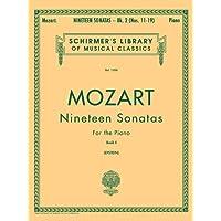 19 Sonatas - Book 2: English/Spanish Schirmer Library of Classics Volume 1306 Piano Solo