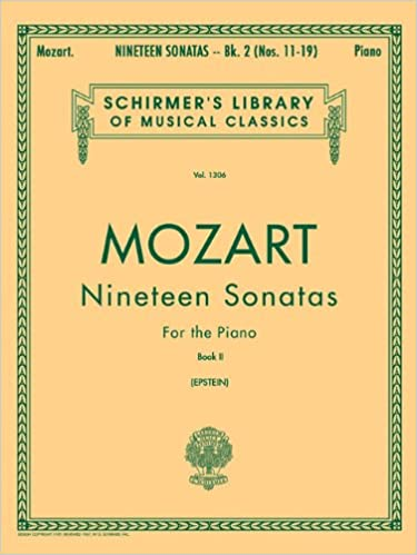 nineteen 19 sonatas for the piano book 2 english spanish text schirmers library of musical classics