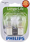 Philips 2357 LongerLife Miniature Bulb, 2 Pack