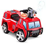 Kid Trax Rescue Vehicle 6V Electric Ride on, Red