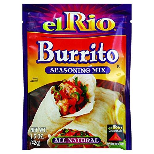 Taco Rio El (Er Burrito Seasoning Mix - 1.5 ounce - 20 per case.)