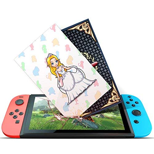 NFC Tag Cards for Super Mario Odyssey Nintendo Switch - 10pcs with Cards Holder