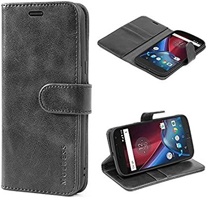 Amazon.com: Mulbess Moto G4 Protective Cover, Magnetic ...