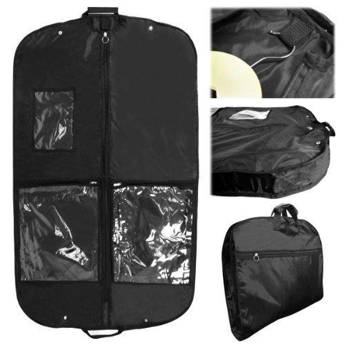 Hangerworld - 3 Borse porta abiti da viaggio 112 cm