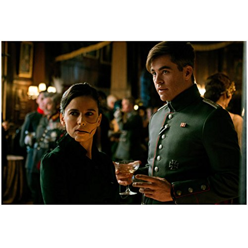 Elena Anaya Standing with Chris Pine in Wonder Woman at Party 8 x 10 Inch Photo (Pine Elena)