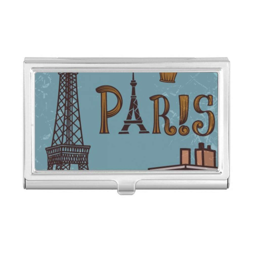 Amazon Paris Fire Ballon France Eiffel Tower Business Card
